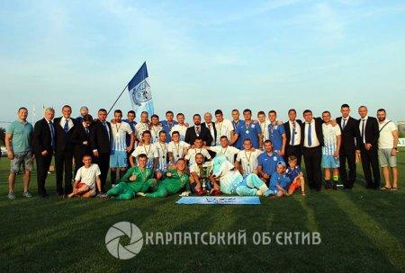 5:0 і Кубок Закарпаття з футболу залишається у «Минаю»