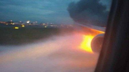 Почули вибух: Над Росією загорівся літак з футбольними фанатами