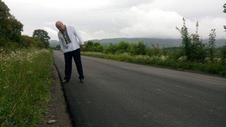 Москаль проінспектував ремонт автодоріг на Іршавщині (ФОТО)