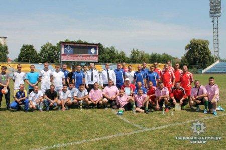 В Ужгороді відбувся турнір з міні-футболу, присвячений Дню української поліції