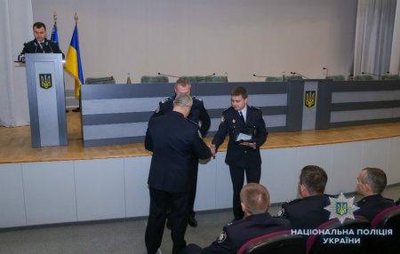 Заступник начальника слідчого управління поліції Закарпаття отримав відзнаку МВС України