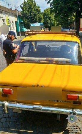 У Мукачеві піймали п'янючого водія (ФОТО)
