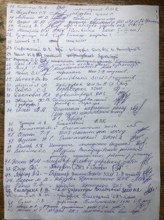 Освітяни Виноградівського району масово підтримують нового начальника управління Юрія Свищо (відео)