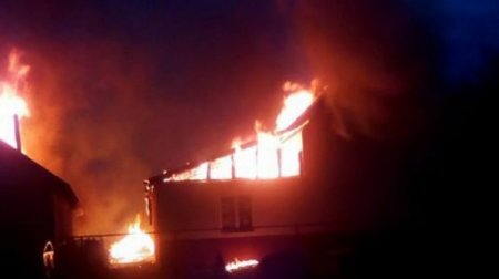 Підозрюють підпал: На Закарпатті згорів ромський дошкільний заклад (ФОТО)