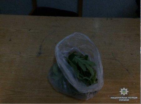 Хустська поліція розслідує факт незаконного зберігання наркотиків мешканцем Березова