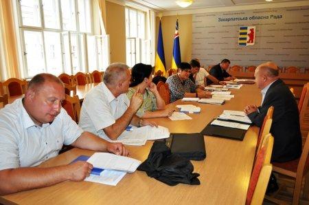 Профільна комісія з питань освіти, науки та культури обговорила матеріали 12 сесії облради, низку листів і звернень