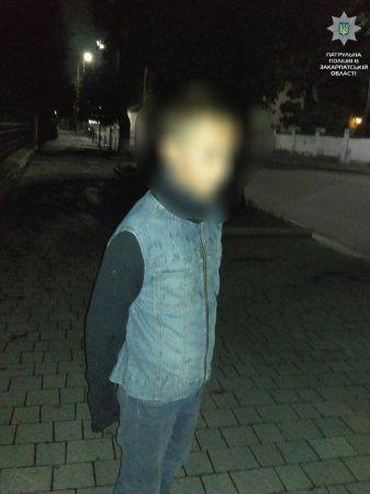 В Ужгороді  спіймали підлітка, що нищив зелені насадження (ФОТО)