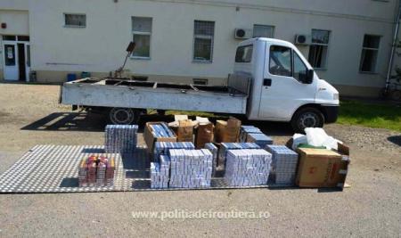 Поліція Румунії затримала більше 7500 пачок контрабандних сигарет з Закарпаття