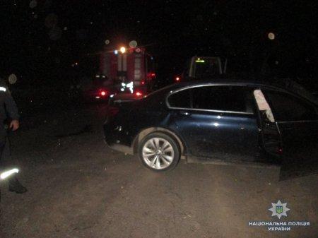 На Тячівщині  трапилося аварія між «BMW» та «Mersedes Benz»