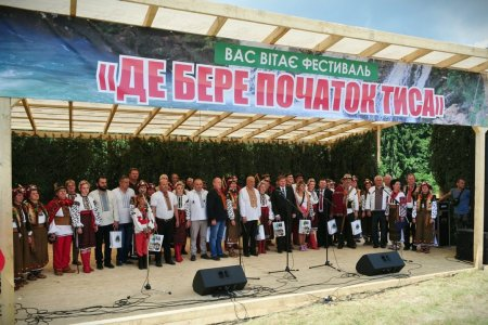 Перший міжнародний фестиваль, присвячений найбільшій річці Закарпаття, відвідали близько двох тисяч гостей (ФОТО)