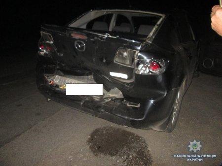 П'яний водій наробив біди: На Тячівщині зіткнулися мікроавтобус з легковиком