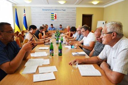 Президія узгодила порядок денний 12 сесії облради та підтримала низку актуальних депутатських ініціатив