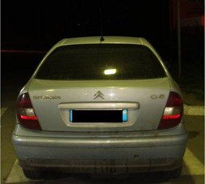 Викрадений в Італії автомобіль виявили закарпатські прикордонники (ФОТО)