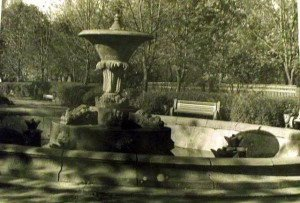 В мережі показали, як в минулому виглядав фонтан у Хусті (ФОТО)