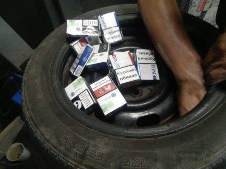 Прикордонники попередили контрабанду цигарок на українсько-словацькому кордоні (ФОТО)