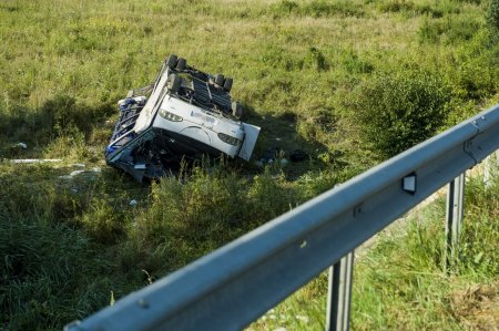 В аварії, яка сталася в Угорщині з мікроавтобусом постраждала майже вся закарпатська сім'я