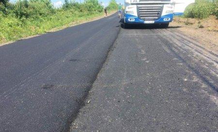 Дорогу на Берегівщині відремонтували капітально, але лише місцями