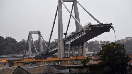 Автомобілі падали з висоти близько 100 м :Обвал мосту в Генуї (ФОТО)