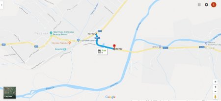 Дорога «Перечин – Ворочево» до і після ремонту (ФОТО)