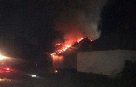 На території мукачівської лікарні сталась пожежа