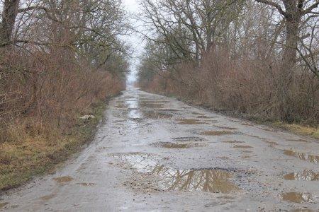 Дорога «Неветленфолу – Дюла – Чорнотисів» до і після ремонту (+ ФОТО)