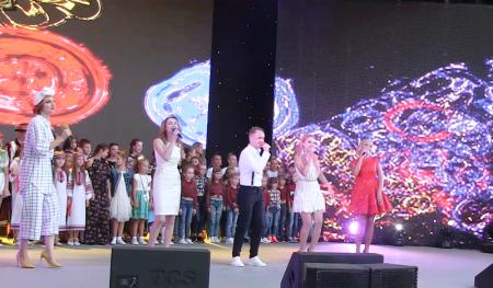 """20-тий Міжнародний фестиваль """"Золоті грона"""" Виноградів – 2018 (відео)"""