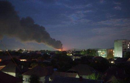 Нові подробиці та наслідки масштабної пожежі в Мукачеві (ВІДЕО)