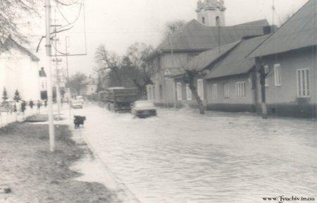 Забута трагедія: повінь 1970-го в Тячеві, який запам`ятали надовго