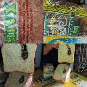 Це огидно: На Рахівщині чоловік  купив хліб з мишею всередині (ФОТО)