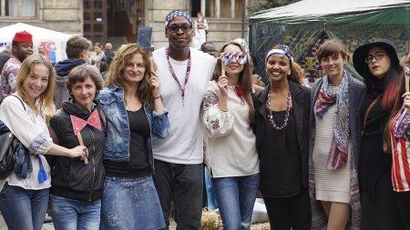 """Фестиваль """"Beauty around me"""" відбувся в Ужгороді: в святі взяли участь представники семи країн світу (відео)"""