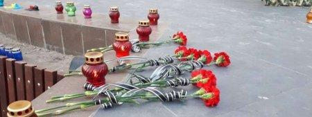 Загиблих у боях за Україну вшанували в Ужгороді (ВІДЕО)