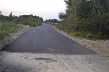 У Тячівському районі відновлено районну дорогу, яка була розмита паводком 5 років тому (фото)