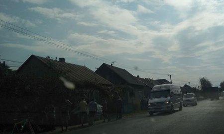 ДТП на Хустщині за участі «євроблях» - знеструмлене пів села (фото)