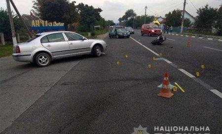Мотоцикліст із Закарпаття розбився у сусідній області