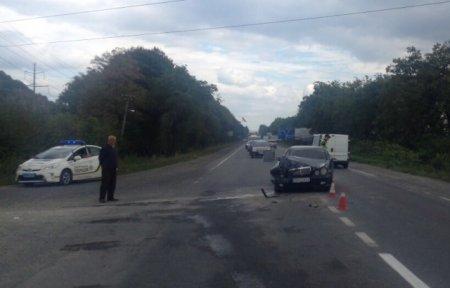 На Мукачівщині трапилася аварія в якій постраждала вагітна жінка