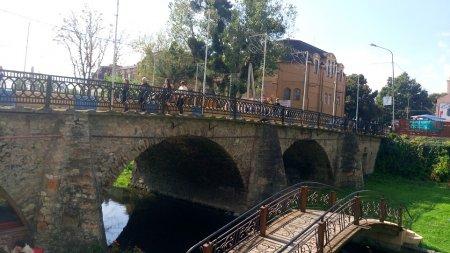 Аварійний міст: Міст у Берегові збудований ще у 1870 році (відео)