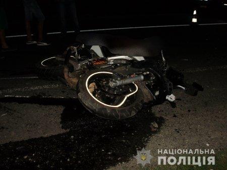 Смертельну аварію, в якій загинув мотоцикліст, розслідує поліція Мукачівщини (ФОТО)