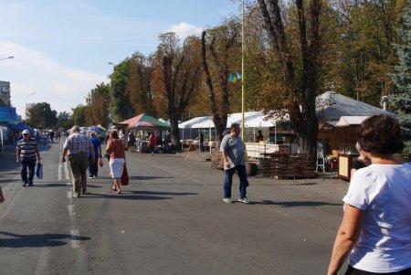 Фестиваль-ярмарок розгорнули в Ужгороді до Дня міста