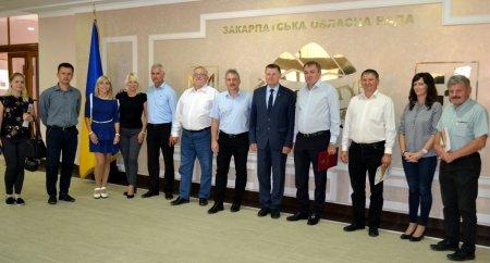 Керівники Закарпатської облради та угорської області Боршод-Абауй-Земплен обговорили подальші партнерські відносини