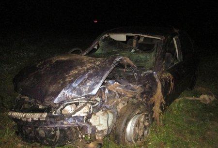 Жахлива ДТП на Тячівщині, молодий водій у реанімації (фото)