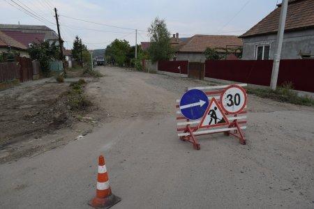 В Берегові ремонтують одну з найпоганіших вулиць міста (фото)