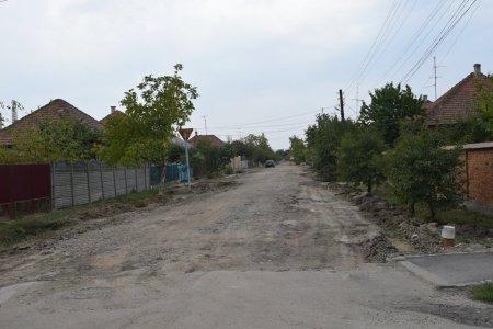 В Берегові ремонтують одну з найгірших вулиць міста (фото)