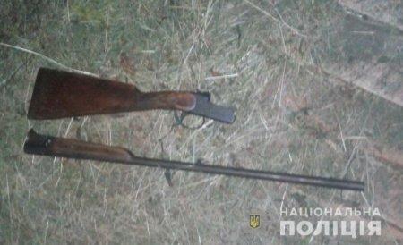 Хустські поліцейські вилучили рушницю у 19-річного фігуранта кримінального провадження (ФОТО)