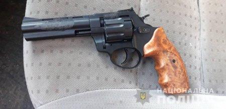 Свалявська поліція вилучила у порушника правил дорожнього руху пістолети