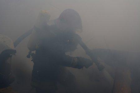 В Ужгороді горів навчальний заклад (фото, відео)
