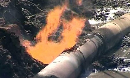 Аварія на газопроводі без газу залишила тисячі Закарпатців