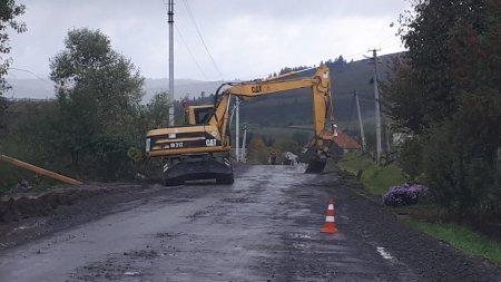У Міжгірському районі почався капітальний ремонт дороги районного значення «Пилипець – Потік»