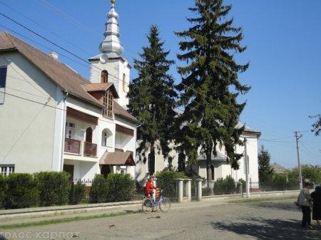 Село Матійово на Виноградівщині вдало розвивається попри мізерний бюджет (ВІДЕО)