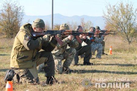 Закарпатська поліція для вдосконалення вмінь та навичок два дні посилено навчалася в польових умовах
