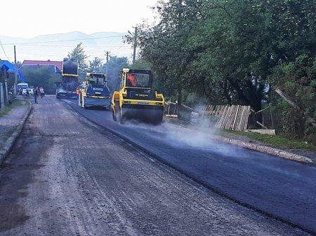 На Міжгірщині триває капітальний ремонт дороги, яка з'єднує три райони (ФОТО)